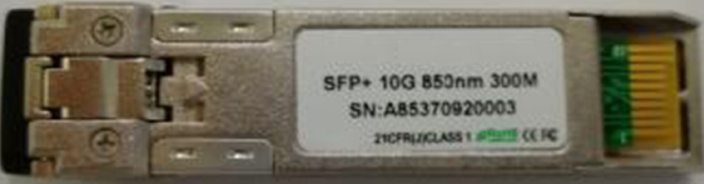 SFP+ 10Gbps 850nm 300m Multi Mode Double Fiber LC DDM
