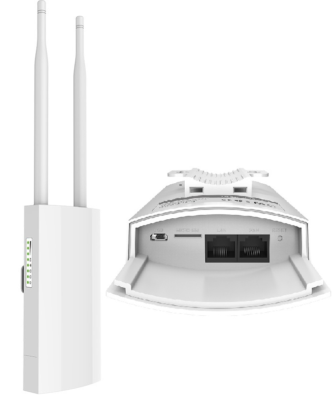 Outdoor AP 300Mbps 2.4GHz 2×2 MIMO. 802.11a/b/g/n  Omnidirectional